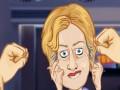 Epic Celeb Barwl: Punch Hillary