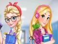 Elza a Rapunzel: D�vky na vysok� �kole